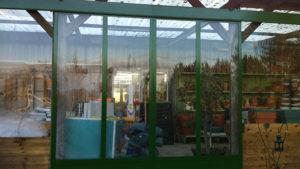 Porte coulissante en acier et vitrée à Saint Doulchard