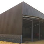 Construction métallique photovoltaïque panneau solaire à Mornay-Berry