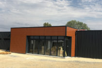 Construction métallique à Mehun sur Yèvre le département du cher (18)